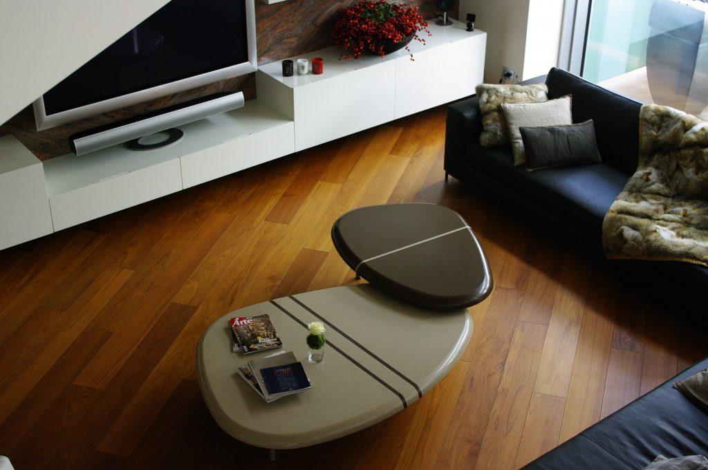 tavolino agglomerato quarzo stone italiana
