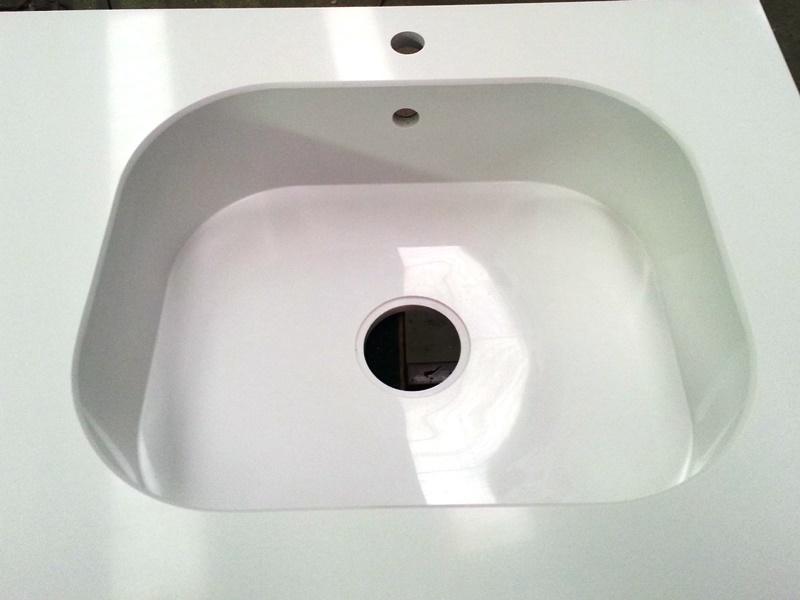 top cucina vasca in agglomerato di quarzo silestone