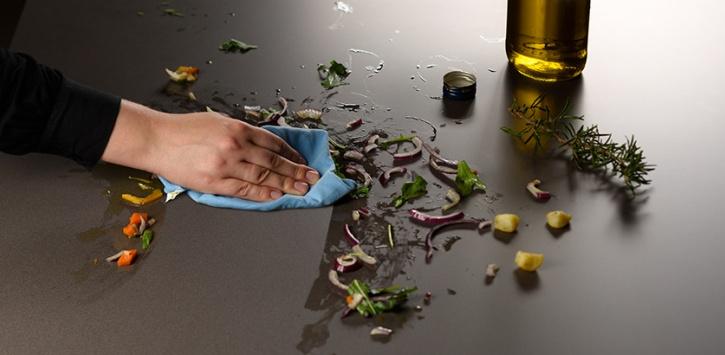 lapitec top cucina resistente a macchie olio