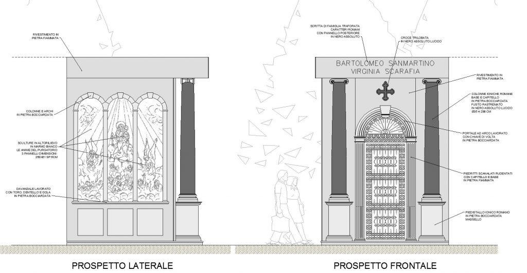 progetto edicola funeraria