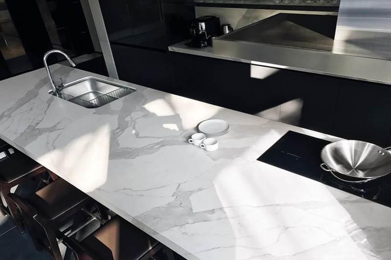 top-cucina-laminam-bianco-statuario